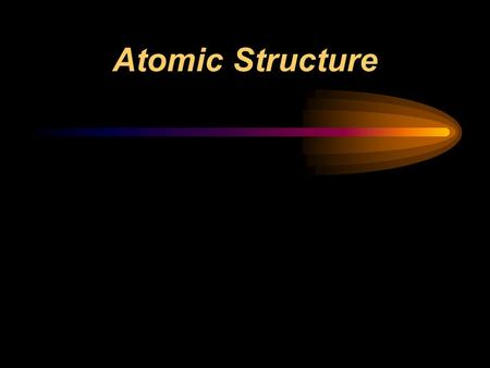 "Atomic Structure. The Atoms Family Atom: the smallest part of an element. Name means ""indivisible"""