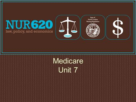 Medicare Unit 7. Medicare Part A Payment Plan Beneficiary Pays (2009) Hospital Stays 1-60 days $1068 61-90 days $267/day 91-150 days $534/day 151+ days.