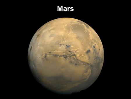 Mars. Moons of Mars Exploration of Mars ~1800: Herschel and others discover ice caps and clouds 1877: Phobos and Deimos discovered; also Schiaparelli.