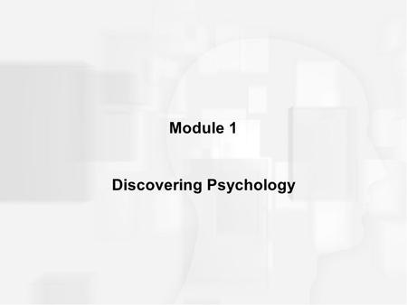 Module 1 Discovering Psychology. INTRODUCTION Growing up in a strange world –Autism especially __________ or ________development in social interactions,