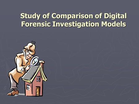 Dissertation Forensic Investigation