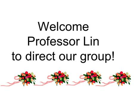 Welcome Professor Lin to direct our group!. 2 Self-introduction Name: Yulei.Hao Hometown: Shou County in Anhui Province Mother school: Hefei University.