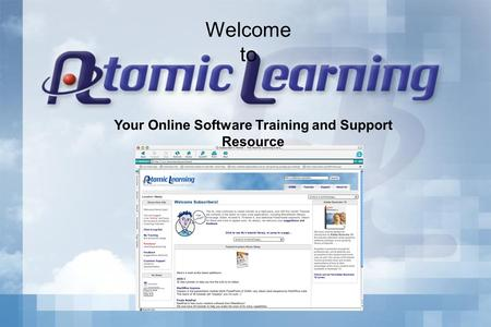 Your Online Software Training and Support Resource Welcome to.