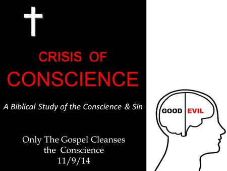 Only The Gospel Cleanses the Conscience 11/9/14. The Tabernacle.