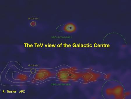 The TeV view of the Galactic Centre R. Terrier APC.
