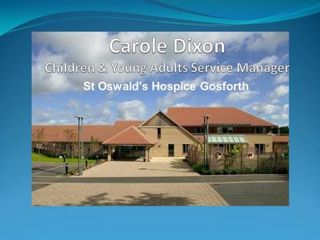 "St Oswald's Hospice Gosforth. To The Carole My boss said...... ""do you fancy a day out in London?"" When she really meant.........."