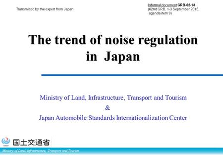 Measures for reducing vehicle noise