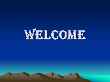 WELCOME. Malay Mitra Lecturer in Computer Science & Application Jalpaiguri Polytechnic West Bengal.