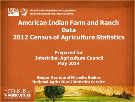 Crops grown in the united states ppt download - United states bureau of statistics ...