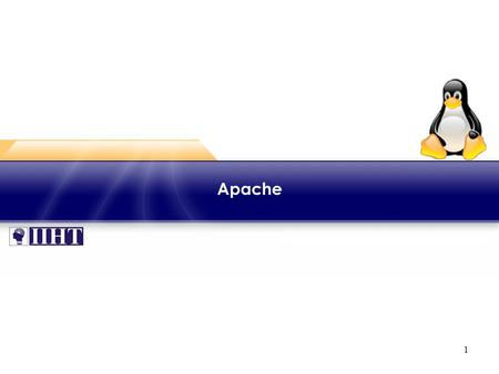 1 Apache. 2 Module - Apache ♦ Overview This module focuses on configuring and customizing Apache web server. Apache is a commonly used Hypertext Transfer.