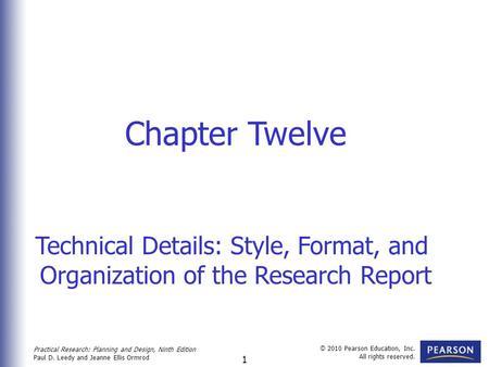 Practical Research Paul D Leedy Jeanne Ellis Ormrod Ppt Download