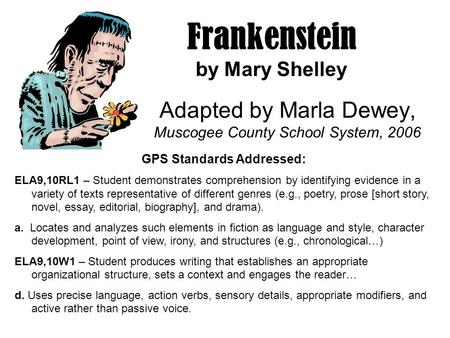 "frankenstein by mary shelley essays More frankenstein essay topics the creature in mary shelley's ""frankenstein or the modern prometheus"" cannot have a bride because he is not human though the."