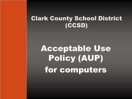 Clark County School District (CCSD)