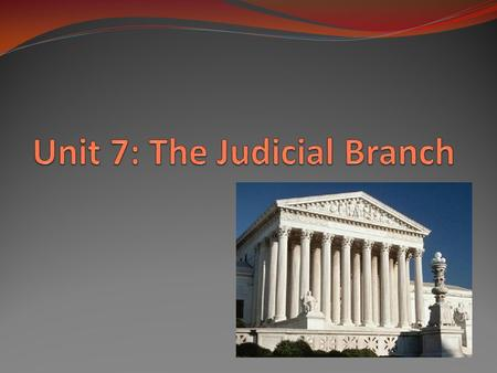 "The Supreme Court/Judicial Branch INTERPRETS the laws ""The judicial Power of the United States shall be vested in one supreme Court, and in such inferior."