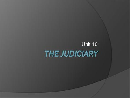Unit 10. Following the Supreme Court  Supreme Court Resources Supreme Court Watch (PBS News hour) Supreme Court Watch Supreme Court In Depth (PBS Video.