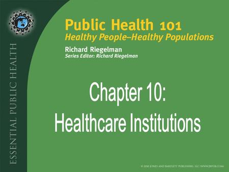 Introduction What Institutions Make Up the Healthcare System? What Types of Inpatient Facilities Exist in the United States? What Types of Outpatient.