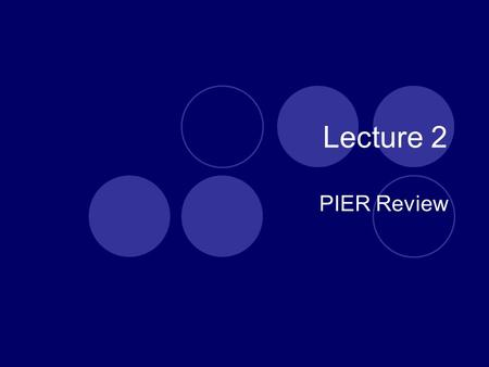 Lecture 2 PIER Review. Pressure  Apply a pressure pad and wrap to prevent extra- cellular fluid from moving distally  Take distal pulse to ensure the.