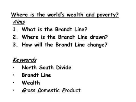 brandt line assessment final