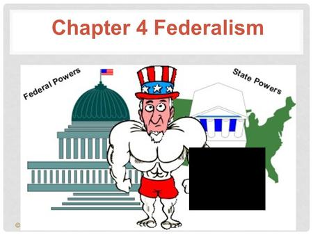 © 2001 by Prentice Hall, Inc. Chapter 4 Federalism.