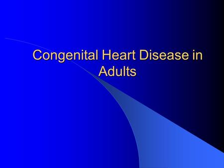 Ucla adult congenital heart disease center thanks for
