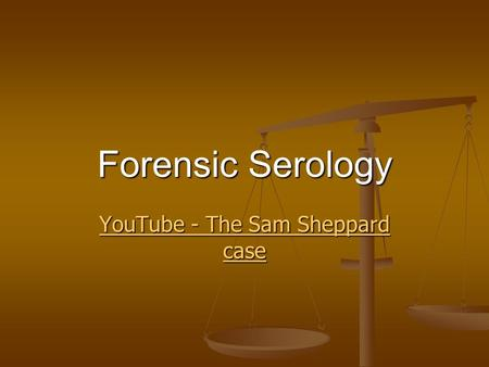 YouTube - The Sam Sheppard case