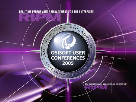 Migrating Operations Applications to PI, by Rayan Hafiz – 2005 OSIsoft User Conferences, Frankfurt.