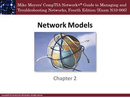 Network Models Chapter 2.