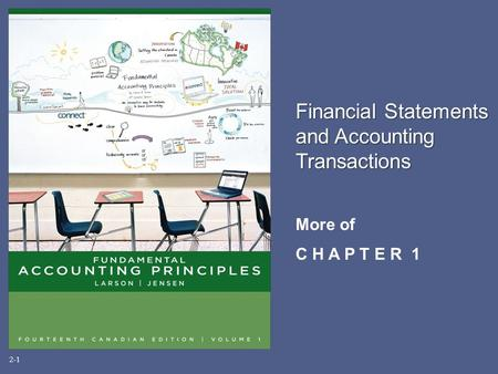 Financial Statements and Accounting Transactions More of C H A P T E R 1 2-1.