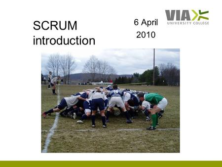 SCRUM introduction 6 April 2010. Scrum Team are known as pigs because they're committed to delivering Sprint Goal People who are involved but not dedicated.
