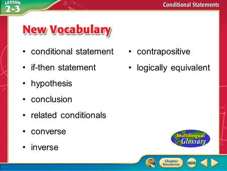 conditional statement contrapositive