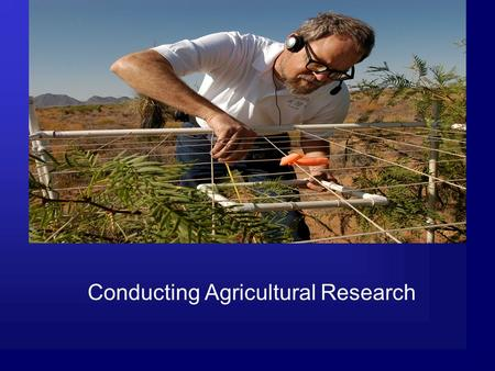 Conducting Agricultural Research. Common Core/Next Generation Science Standards Addressed! MS ‐ LS2 ‐ 4. Construct an argument supported by empirical.
