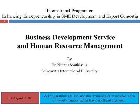 Entrepreneurship & Corporate Innovation