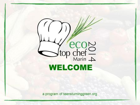 WELCOME a program of teensturninggreen.org. About ETCM? ETCM engages students and chefs in collaboration to create fresh, local, organic, seasonal, sustainable,