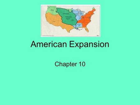 American Expansion Chapter 10. Jefferson as President Thomas Jefferson and the Republicans in Power –Jefferson took office as the 3 rd President of the.