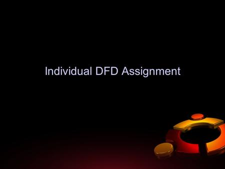Individual DFD Assignment