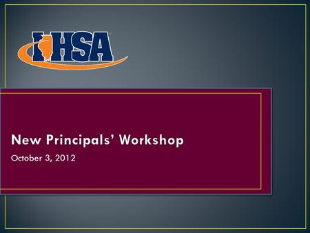 "October 3, 2012. ""Do What's Right!"" The ""Do What's Right!"" Program builds upon the IHSA's current efforts to promote and recognize sportsmanship within."