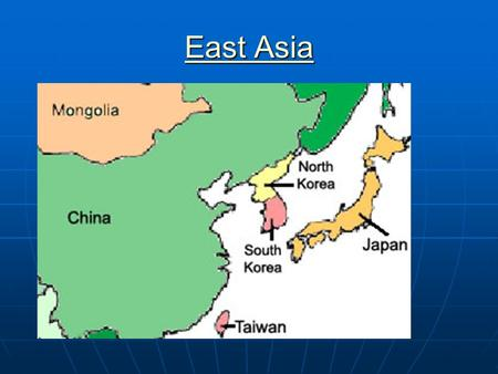 East Asia East Asia. One measure of scientific impact: