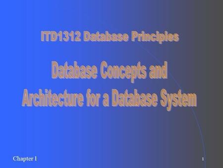 Architecture for a Database System