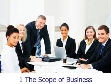 1 1 The Scope of Business. 2 What Is Business? An organization that provides goods and/or services to earn profits Profits: The positive difference between.