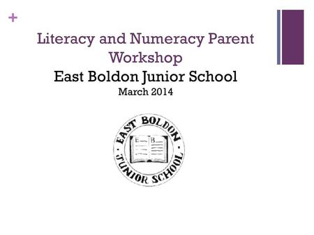 Literacy at East Boldon Junior School