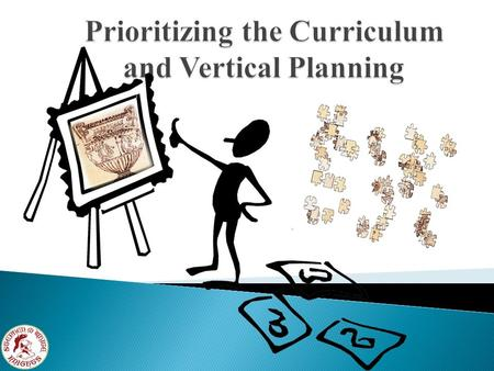 Curriculum What is it like? A path or course to run in small steps. What is the Purpose? To focus and connect the work of teachers in their classroom.