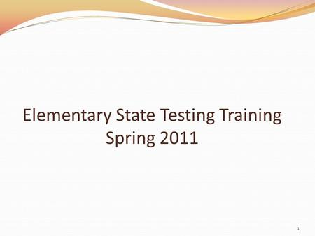 Elementary State Testing Training Spring 2011 1. MCA – Estimated Times Estimated Times for Reading MCA-IIs GradeSubject Minutes per Segment (Student Work.