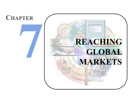 REACHING GLOBAL MARKETS C HAPTER. Marketing that targets customers throughout the world. More customers=more money. Good thing, right? Global Marketing.