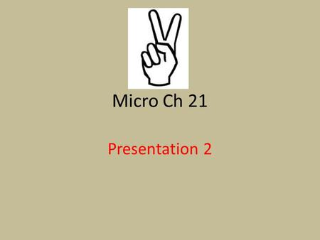 Micro Ch 21 Presentation 2. Profit Maximization in the SR Because the purely competitive firm is a price taker, it can maximize its economic profit/minimize.