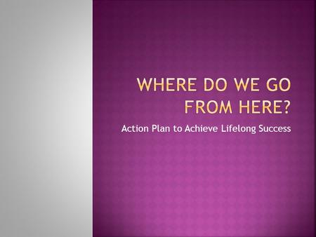 "Action Plan to Achieve Lifelong Success.  About others  About yourself  Examples: ""She's (He's) so good looking, I bet she (he) is stuck up."" ""I can't."