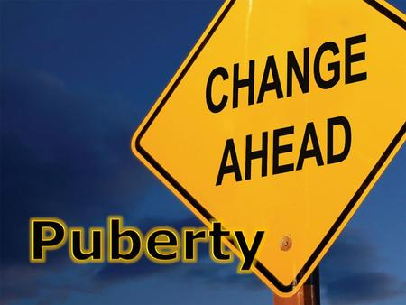 Although the reproductive organs are present at birth, they are small and cannot function. Puberty is the change from an immature juvenile into a sexually.