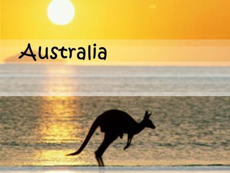  Australia is located in the southern hemisphere.  It is the 6 th largest country as well as the smallest continent in the world. (2,941,299 sq mi)