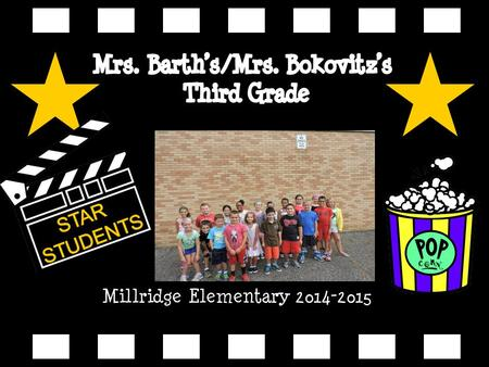 Millridge Elementary 2014-2015. Kristin Barth My voic is 440-995- 72963.