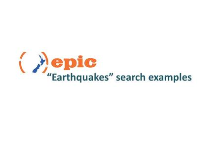 """Earthquakes"" search examples. Earthquakes Topic PageEarthquakes Topic Page in Science In Context."