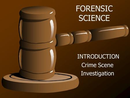 "crime scene investigation thesis and introduction Forensics as a crime scene investigator  march 23, 2012 forensics thesis  ""crime scene investigation is often a challenging and difficult line of work for."